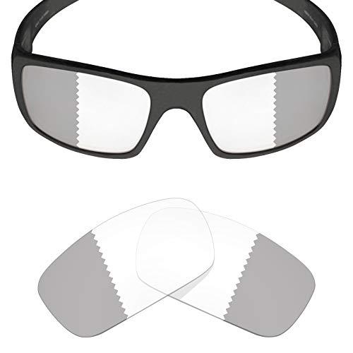(Mryok UV400 Replacement Lenses for Oakley Crankshaft - Eclipse Grey Photochromic)