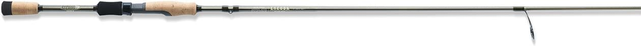 St. Croix ECS70LF Eyecon Graphite Spinning Fishing Rod with Split-Grip Cork Handle, 7-feet