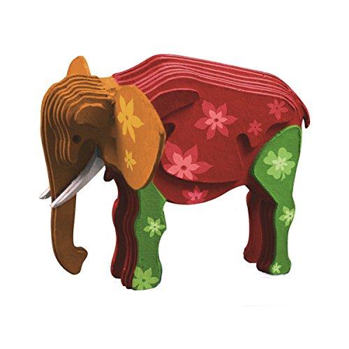 TruTru Elephant European 3D Puzzle DIY Craft Kit;