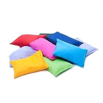 Juego de bolsas de tela de jardín de varios colores ...