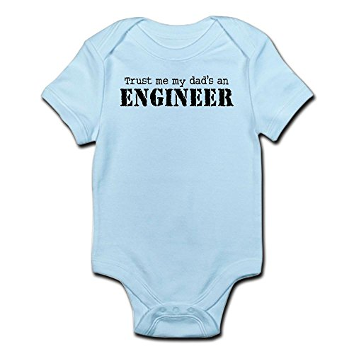 CafePress Engineer Infant Bodysuit Romper