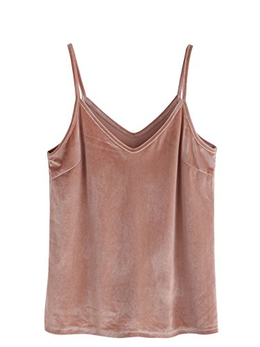 SheIn Womens Casual Strappy Velvet
