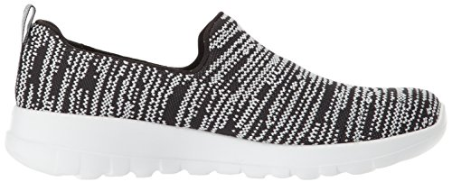 Joy White Skechers Walking 15602 Go Women's Shoe Black OTxTEq0