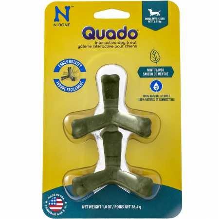 Quado Interactive Dog Chew Treat, Mint Flavor