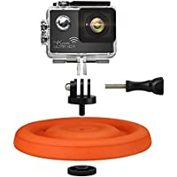 Color You Dog Frisbee Waterproof Floating Mount for GoPro Hero 5/4/ 3+/3 SJCAM SJ4000/5000/6000 Xiaomi Yi Action Camera, Dog Flying Disc