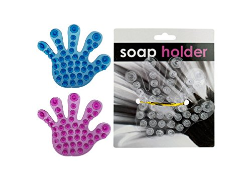 Hand Suction Cup Soap Holder, Case of 72