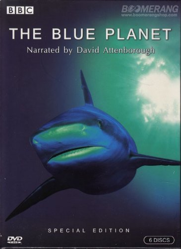 The Blue Planet BBC Box Set 6 Disc With Exclusive Bonus Disc For All Region/PAL