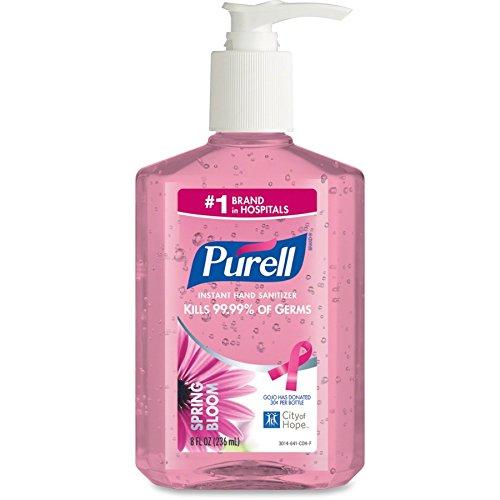 (Purell Instant Hand Sanitizer Spring Bloom - Spring Bloom Scent - 8 fl oz (236.6 mL) - Pump)