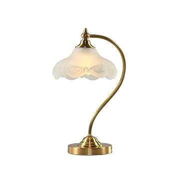 YUE Wall Lamp Lámparas De Mesa Creativas Cobre Estilo ...