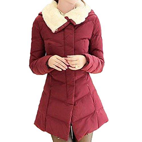 蒸発通信する変形CAIXINGYI中の長いセクションをダウン綿着やせ修身綿入れ百搭ベスト女コート綿入れ