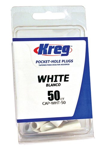 Kreg CAP-WHT-50 Lot de 50 accessoires pour menuiserie Blanc