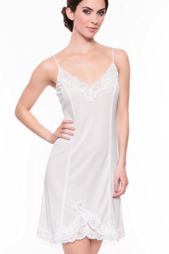 Gattina Damen Nachthemd Tahiti 180320-535-38 Creme/Creme