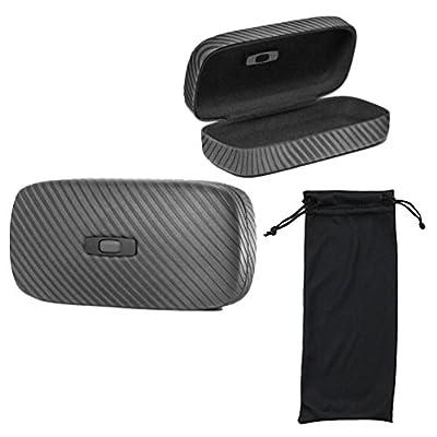 Oakley Square O Hard Sunglass Case, With 1 Soft Sunglasses Bag