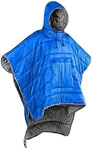 Gaorui Winter Poncho Coat Outdoor Camping Warmth Small Quilt Blanket Water-resisitant Sleeping Bag Cloak Cape