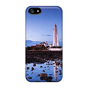 Nathco Scratch-free Phone Case For Iphone 5/5s- Retail Packaging - Saint Marys Lighthouse Whitley