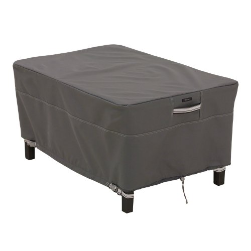 Classic-Accessories-Ravenna-Rectangle-OttomanSide-Table-Cover-Taupe