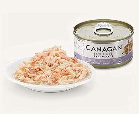 CANAGAN FOR Cats - Comida húmeda para Gatos sin Granos de 75 gr ...