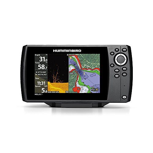 Humminbird 410280-1 HELIX 7 CHIRP DI G2 Fish finder(External GPS) by Humminbird