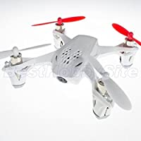 (Ship from USA) Hubsan X4 FPV H107D 4CH Quadcopter 2.4G RTF 4.3 Inches LCD White Mode2 - US Ship
