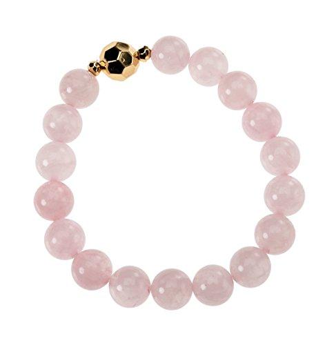 Occasionally Made Beaded Stretch Bracelet, Rose Quartz