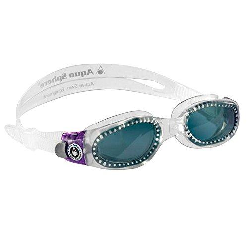 Aqua Sphere Kaiman Ladies Goggles - Smoke Lens (Lady Goggles)