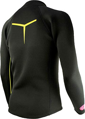 TUSA Sport Mens 2mm Neoprene Wetsuit Top, Medium