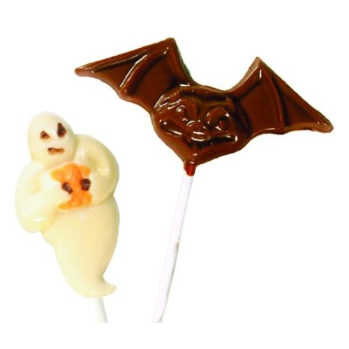 Make N' Mold 1053 Dress My Cupcake Ghost and Bat Lollipop Candy Mold -