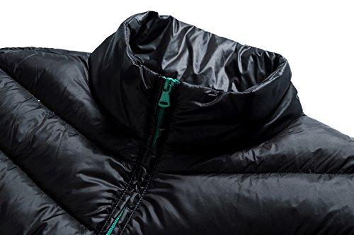 Wantdo Packable Sports Stand Women's Short Lightweight Wear Black Jacket Collar Down Down RqROgHw