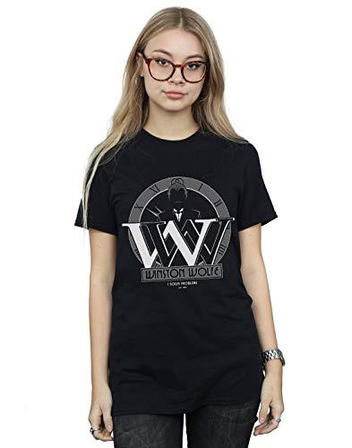 Mujer Chenery Fit Absolute Novio Winstone Alex Negro Cult Wolfe Del Camiseta CqfzgtfB