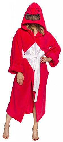 Power Rangers Men's Mighty Morphin Robe, Red, One Size (Cosplay Power Rangers)