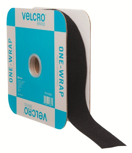 - VELCRO Brand - ONE-WRAP Roll, Double-Sided, Self Gripping Multi-Purpose Hook and Loop Tape, Reusable, 45' x 1 1/2