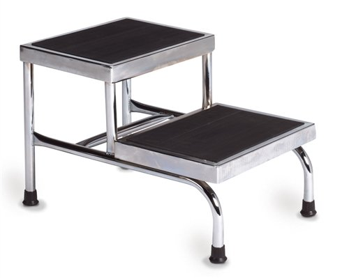 Step Stools - Two-Steps, Heavy Duty, No Handrail