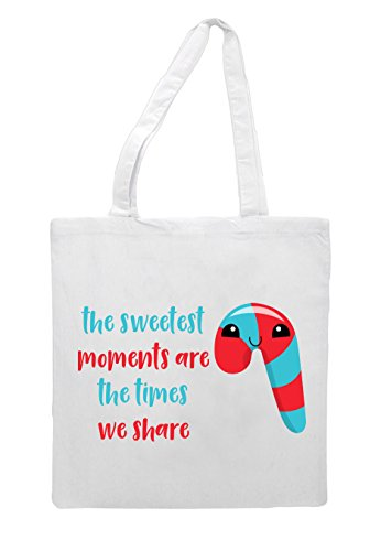 We White Times Are Christmas Bag The Share Sweetest Shopper Tote Cute Festive Moments 7Sq4WwIxtB