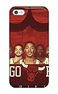 Durable Sports Nba Chicago Bulls Back Case For Iphone 6 Plus (5.5 Inch) Cover