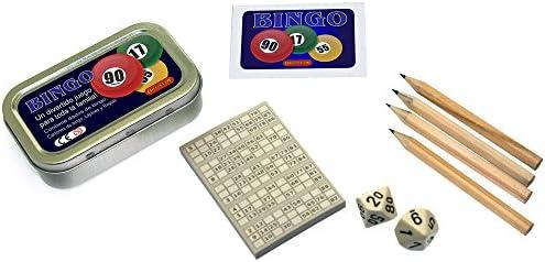 Brimtoy Juego de Bingo de Bolsillo/Viaje.: Amazon.es: Juguetes y juegos
