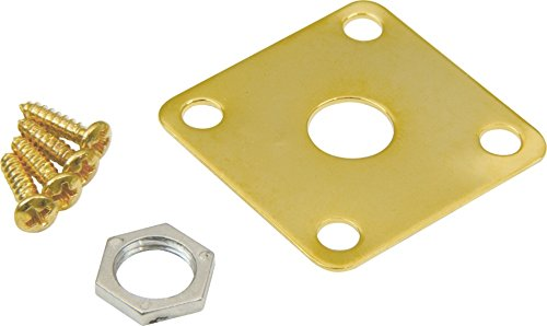 Style Metal Jack Plate (DiMarzio Gibson Style Metal Jack Plate Gold)