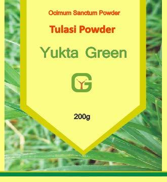 Yuktha Green Tulsi Leaf Powder/Holy Basil/Ocimum Sanctum Powder - 200g/7 ()