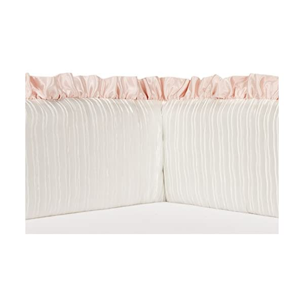 Sweet Potato Lil' Princess Bumper, Pink/Cream/Ivory