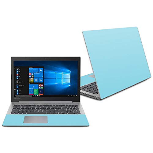 "Mightyskins Skin Compatible with Lenovo Ideapad 330 15"" (2018) - Solid Baby Blue 