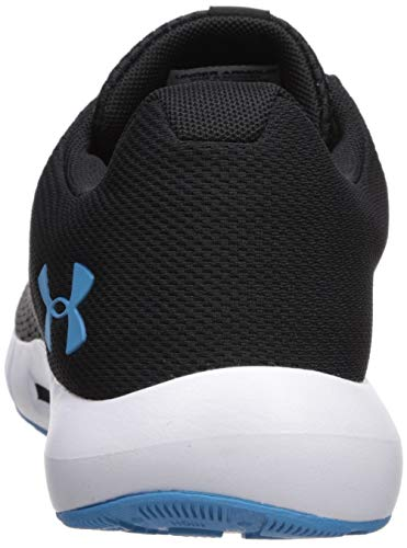 Under Armour Men's Micro G Pursuit Running Shoe, Academy Blue (402)/Black, 9.5 by Under Armour (Image #2)