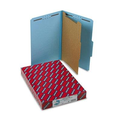 "Smead - Pressboard Classification Folders Legal Four-Section Blue 10/Box ""Product Category: File Folders Portable & Storage Box Files/Folders"""