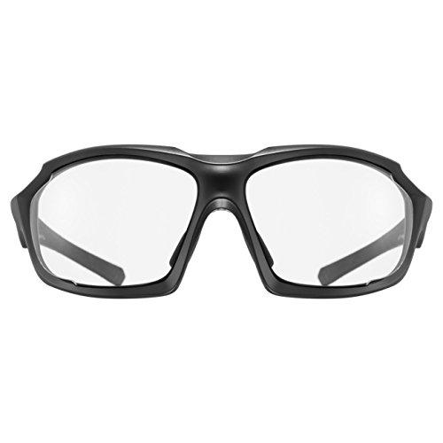 Uvex Sportstyle 710 V Lunettes de Soleil Mixte Noir Mat