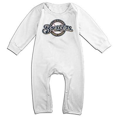 Vinda Cute Milwaukee Baseball Team Climbing Clothes For Toddler White