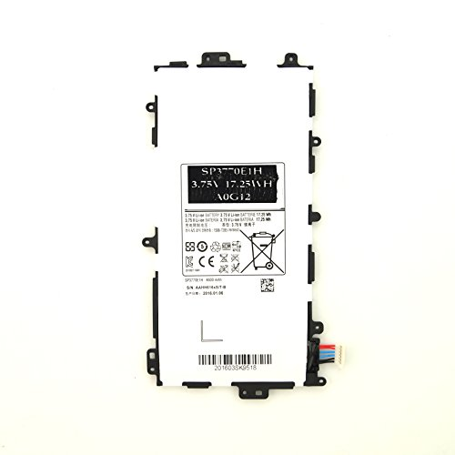 Price comparison product image SIKER 3.75V 4600mAh SP3770E1H Battery for Samsung Galaxy Note 8.0 GT-N5110 N5100 N5120 N5110 SGH-i467--12 Months Warranty