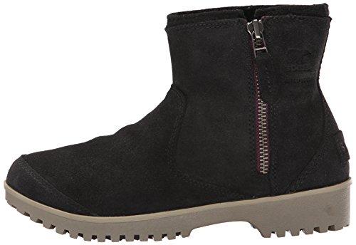 Sorel Black Boots Zip Women's Chukka Meadow qwZF7T