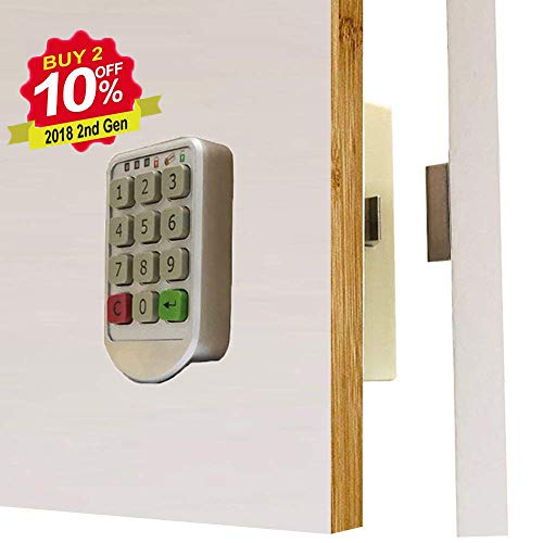 Electronic Cabinet Lock   Digital Keypad Cabinet Lock With Password Entry    Combination Lock For Cabinet
