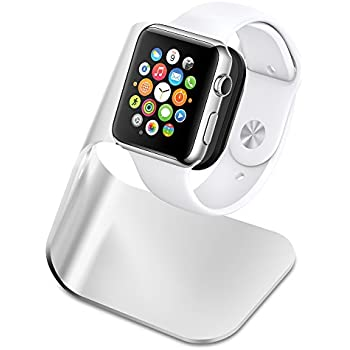Spigen Apple Watch Stand S330 with Aluminum Body for Apple Watch Series 3/series 2/Series 1 - Patent Pending