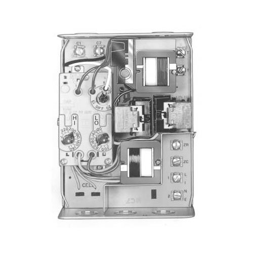 Honeywell R8182D-1079 Triple Aquastat Relay and Oil Burner with Primary Control Vertical Mount-Less Well