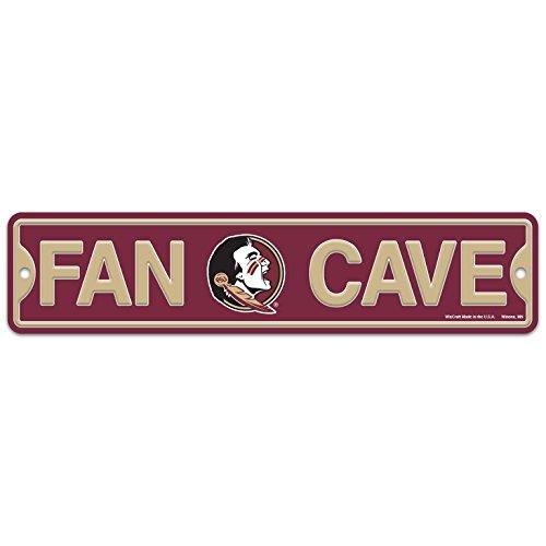 Florida State Seminoles Street Sign - WinCraft Florida State FSU Seminoles Plastic Fan Cave Sign 4