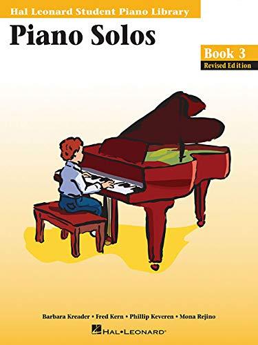 (Piano Solos - Book 3: Hal Leonard Student Piano Library)
